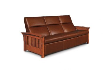 Picture of the Simply Amish Grand Rapids Sofa Recliner