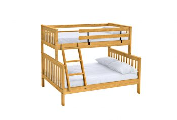 Picture of a Crate Mission Bunk Bed - Twin Over Full