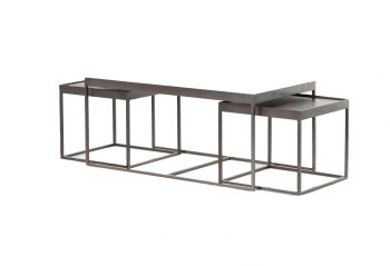 Picture of the Four Hands Evelyn Nesting Coffee Table