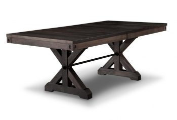 Picture of a Handstone Rafters Trestle Table