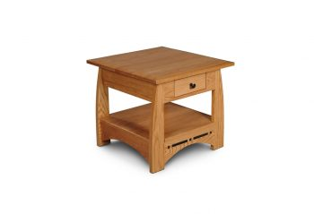 Picture of the Simply Amish 1-Drawer End Table with Inlay