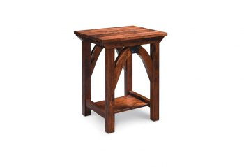 Picture of a Simply Amish B & O Railroad Nightstand