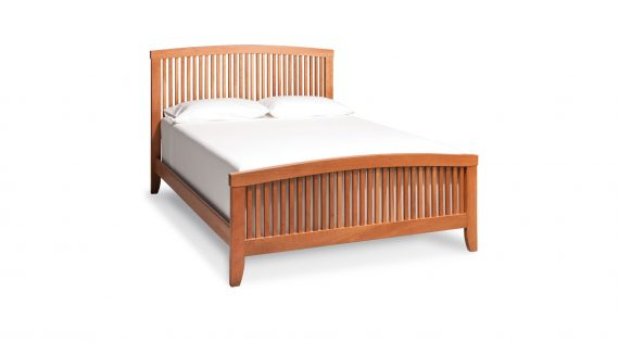 Picture of a Simply Amish Justine Slat Bed