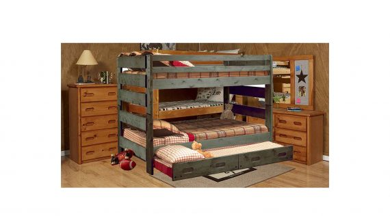 Picture or a Trendwood Triple Bunk Bed