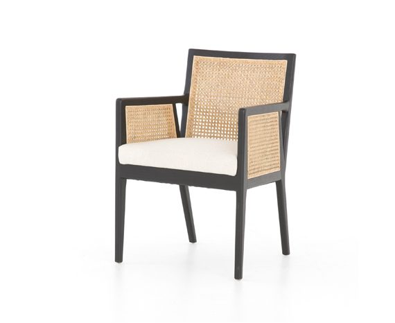 Picture of a Four Hands Antonia Cane Dining Arm Chair