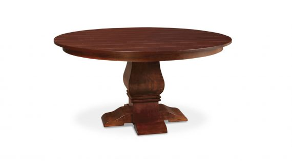 Picture of a Simply Amish Franciscan Round Table