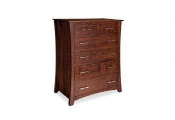 Picture of a Simply Amish Loft 6-Drawer Chest