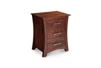 Picture of a Simply Amish Loft Nightstand