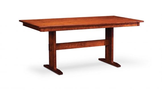 Picture of a Simply Amish Shenandoah Trestle 11 Table